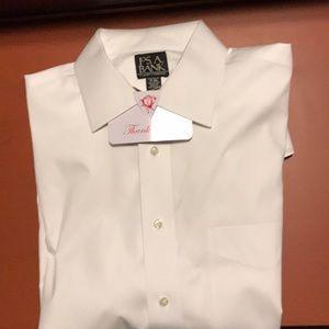Long sleeve non iron Jos a Bank dress shirt